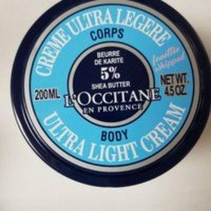 Loccitane Ultra Light Body Cream Shea